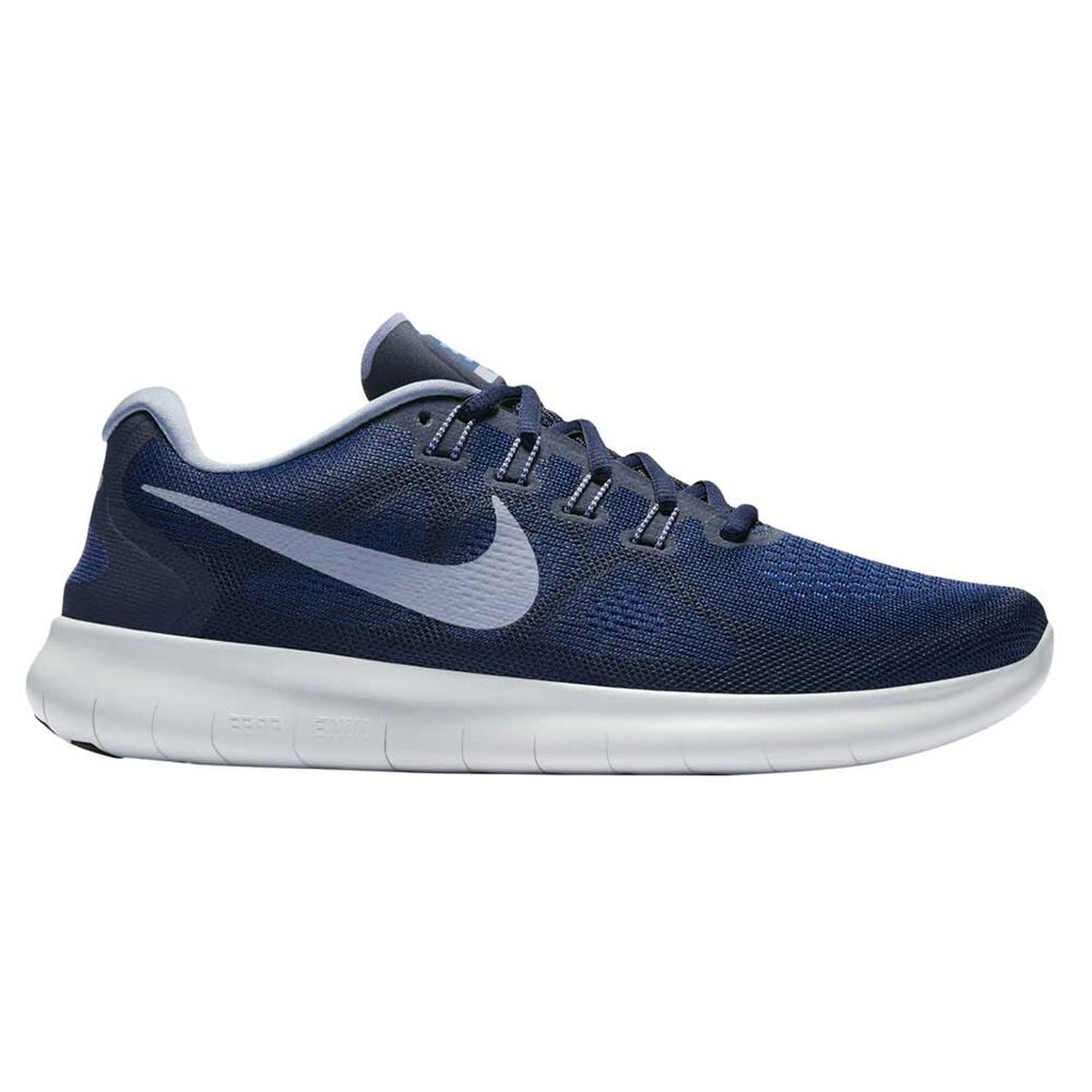 48356e9f5d9d Nike Free Run 2017 Mens Running Shoes Blue US 7