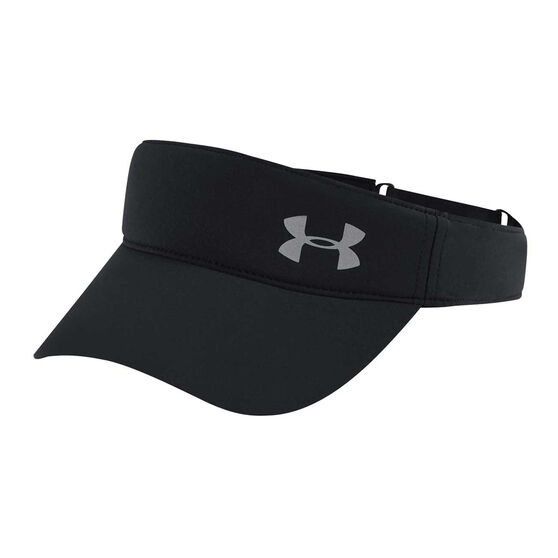 Under Armour Womens Fly By Visor Black OSFA, Black, rebel_hi-res