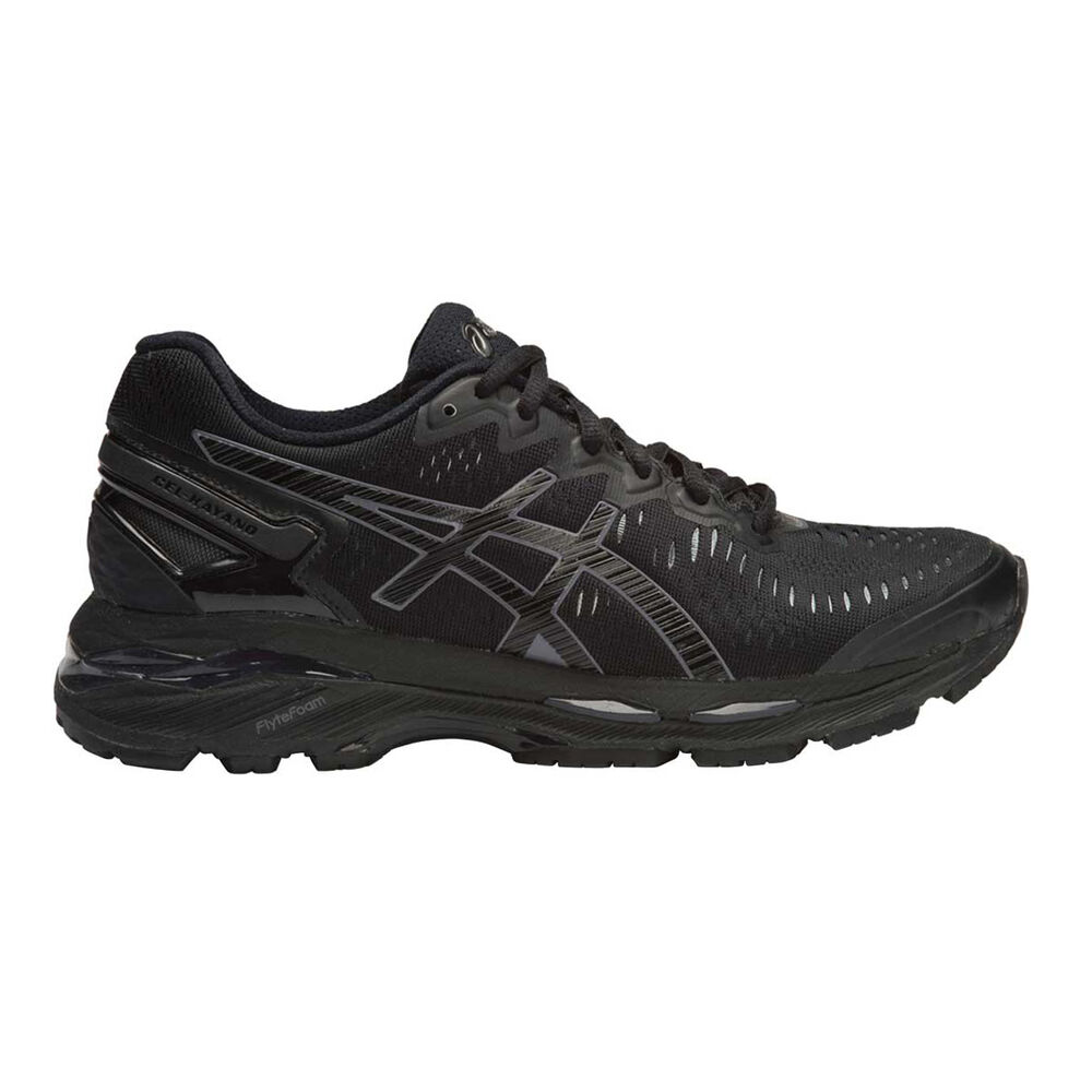 a488fea6f8d1 Asics Gel Kayano 23 Womens Running Shoes Black US 6