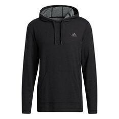 Adidas Mens Urban Global Pullover Hoodie Black S, Black, rebel_hi-res