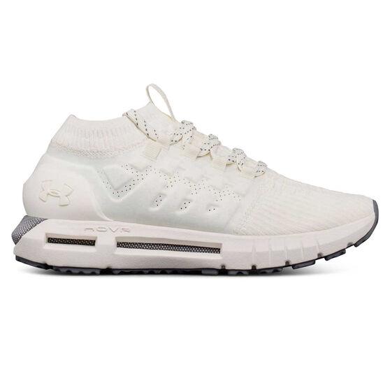 Under Armour HOVR Phantom Womens Running Shoes, White / Grey, rebel_hi-res