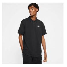 Nike Mens Sportswear Matchup Polo, Black, rebel_hi-res