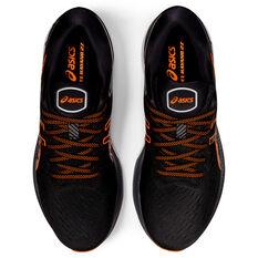 Asics GEL Kayano 27 Mens Running Shoes, Black/Orange, rebel_hi-res