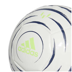 adidas Messi Club Soccer Ball Purple / White 3, Purple / White, rebel_hi-res
