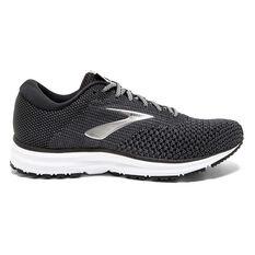 f2a0155e1429a Brooks Revel 2 Womens Running Shoes Black   White US 6