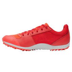 Asics GEL Firestorm 4 Kids Track Shoes, Red/Orange, rebel_hi-res
