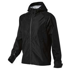 SVNT5 Mens Thredbo Shell Jacket Black S, Black, rebel_hi-res