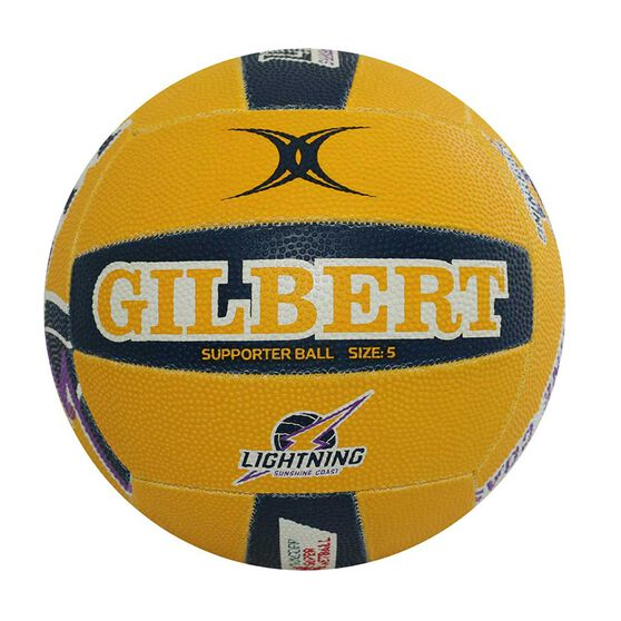 Gilbert Sunshine Coast Lightning Training Netball Multi 5, , rebel_hi-res