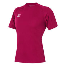Umbro League Knit Youth Training Jersey Claret XS YTH, Claret, rebel_hi-res