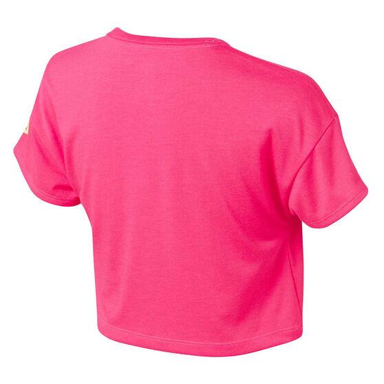 Nike Girls Sportswear Crop Tee Pink 6, Pink, rebel_hi-res