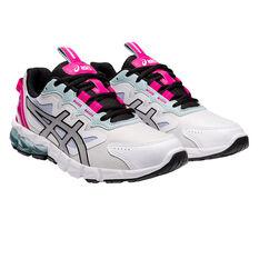 Asics GEL Quantum 90 Womens Casual Shoes, White/Pink, rebel_hi-res