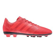 adidas Nemeziz 17.4 FXG Junior Football Boots Coral / Black US 11 Junior, Coral / Black, rebel_hi-res