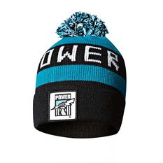 Port Adelaide Power Bar Beanie OSFA, , rebel_hi-res