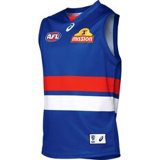 Western Bulldogs 2018 Mens Home Guernsey, , rebel_hi-res