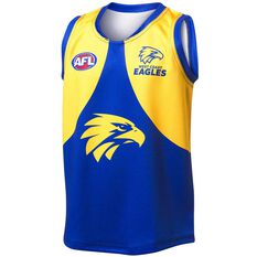 West Coast Eagles 2020/21 Kids Home Nic Naitanui Guernsey Blue 8, Blue, rebel_hi-res