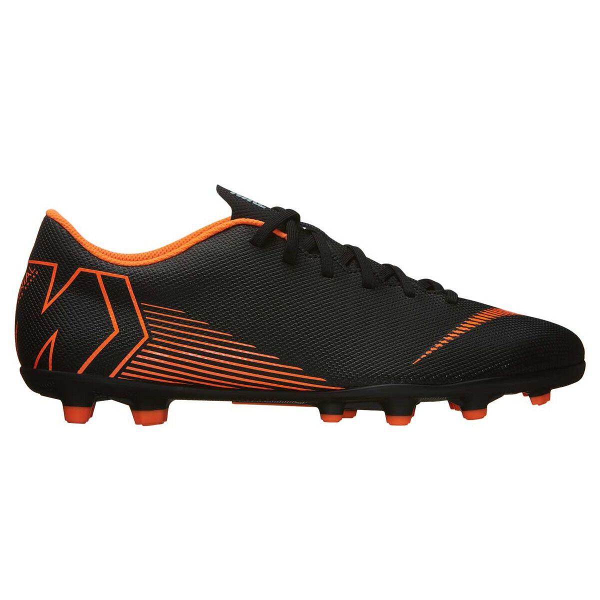 05d554ac1e97 discount nike mercurial vapor 12 club mg mens football boots black orange  us 7 adult 581b3