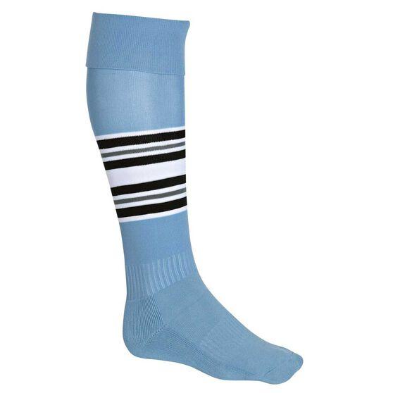 Burley Old Cronulla Football Socks US 12 - 14, , rebel_hi-res