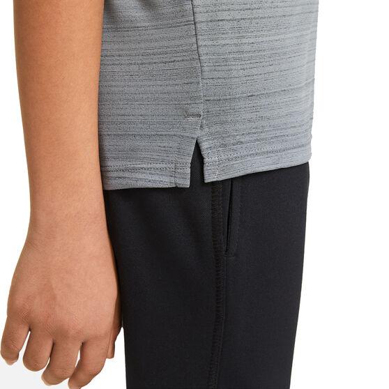 Nike Boys Dri-FIT Miler Tee, Grey, rebel_hi-res