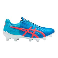 Asics Lethal Tigreor IT FF Mens Football Boots Blue / Coral US 8 Adult, Blue / Coral, rebel_hi-res