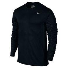 Nike Mens Dry Legend 2.0 Longsleeve Training Tee Black S, Black, rebel_hi-res