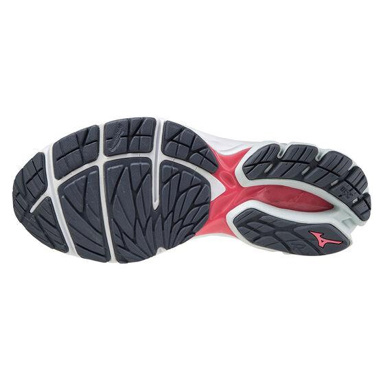 Mizuno Wave Kizuna 2 Womens Running Shoes, Black/Blue, rebel_hi-res
