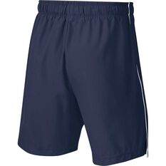 Nike Boys 6in Woven Shorts Navy / White XS, Navy / White, rebel_hi-res