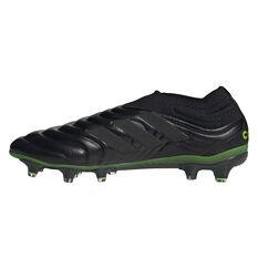 adidas Copa 20+ Football Boots Black/Green US Mens 7 / Womens 8, Black/Green, rebel_hi-res