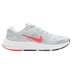 Nike Air Zoom Structure 23 Mens Running Shoes White/Pink US 6, White/Pink, rebel_hi-res