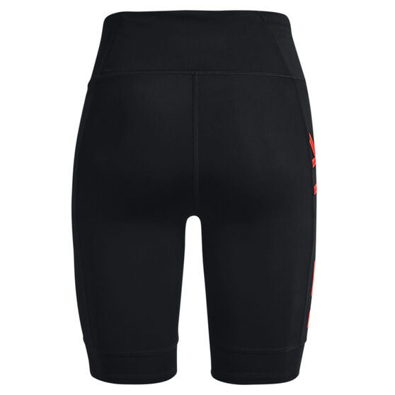Under Armour Womens Run Anywhere 1/2 Tights, Black, rebel_hi-res