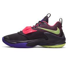 Nike Zoom Freak 3 Basketball Shoes Purple US 7, Purple, rebel_hi-res