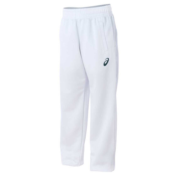 Asics Boys Cricket Pants White 8, White, rebel_hi-res