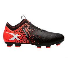 X Blades Micro Jet X 19 Mens Football Boots Black / Red US 7, Black / Red, rebel_hi-res