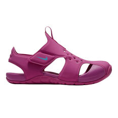 Nike Sunray Protect 2 Junior Kids Sandals Fuschia US 11, Fuschia, rebel_hi-res