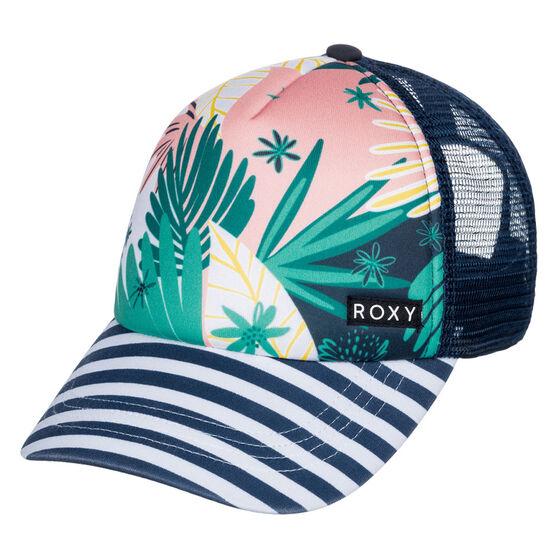 Roxy Girls Honey Coconut Trucker Cap, , rebel_hi-res