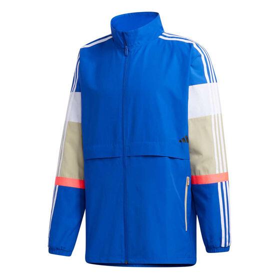 adidas Mens UB Colourblock Jacket, Blue, rebel_hi-res