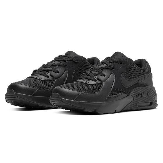 Nike Air Max Excee Kids Casual Shoes, Black, rebel_hi-res