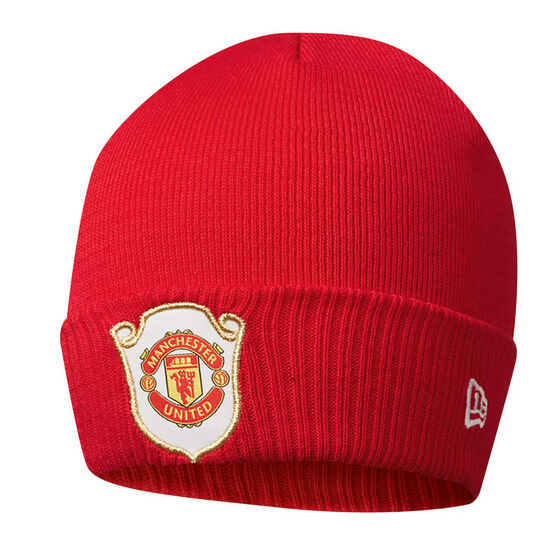 Manchester United New Era 1999 The Treble Cuff Knit Beanie, , rebel_hi-res