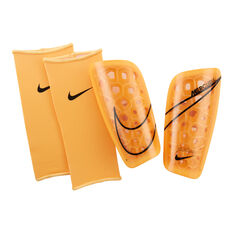 Nike Mercurial Lite Shin Guards Orange S, Orange, rebel_hi-res