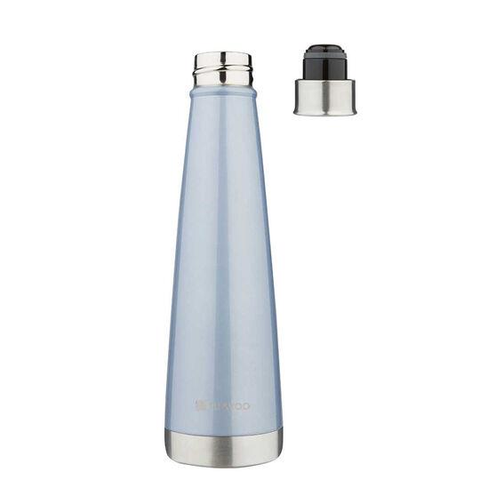 Ell & Voo Aria 430ml Insulated Drink Bottle Blue, Blue, rebel_hi-res