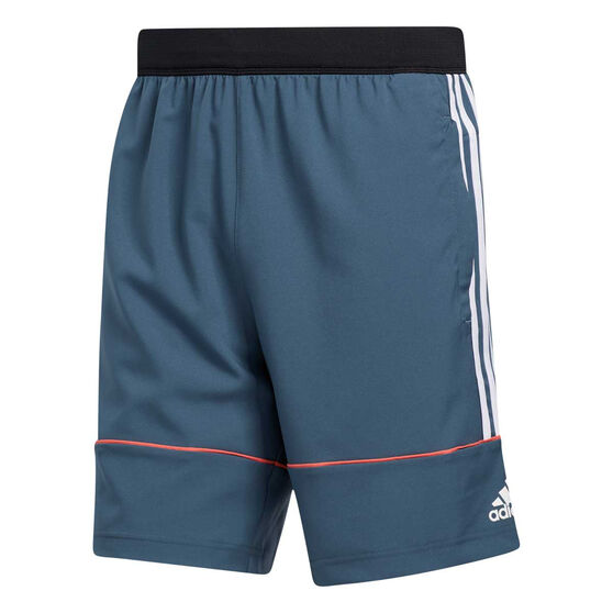 adidas Mens Primeblue Shorts, Blue, rebel_hi-res