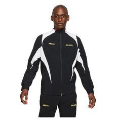 Nike FC Mens Full Zip Woven Soccer Jacket Black S, Black, rebel_hi-res