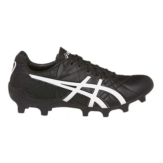 Asics Lethal Tigreor IT FF Mens Football Boots Black / White Mens US 9.5 / Womens US 11.5 Adult, Black / White, rebel_hi-res