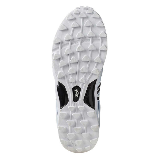 Kookaburra Pro 2000 Kids Rubber Cricket Shoes, White, rebel_hi-res
