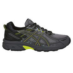 Asics GEL Venture 6 Mens Trail Running Shoes Grey / Yellow US 7, Grey / Yellow, rebel_hi-res