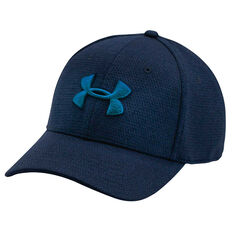 Under Armour Mens Heather Blitzing Cap Navy M / L Adult, Navy, rebel_hi-res