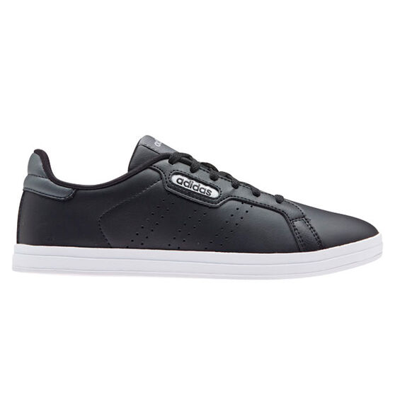 adidas Courtpoint CL X Womens Casual Shoes, Black/Grey, rebel_hi-res
