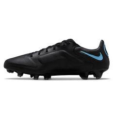 Nike Tiempo Legend 9 Pro Football Boots Black/Grey US Mens 4 / Womens 5.5, Black/Grey, rebel_hi-res