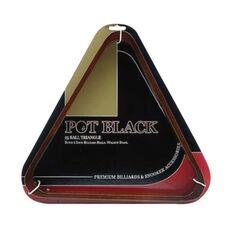Pot Black Timber Triangle, , rebel_hi-res