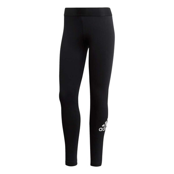 adidas Womens Must Haves Badge Of Sport Tights, Black, rebel_hi-res