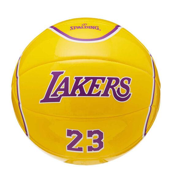 Spalding NBA LeBron James Mini Basketball, , rebel_hi-res